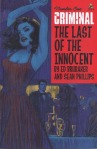 cover to Criminal: Last of the Innocent #1