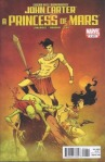 cover to John Carter: A Princess of Mars #1