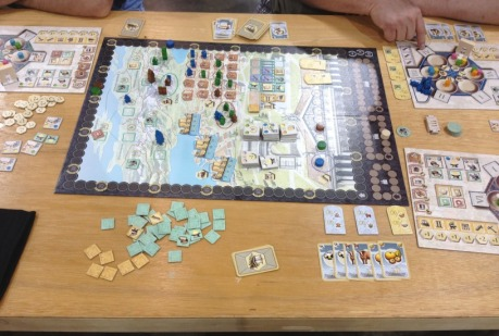 The full Trajan board