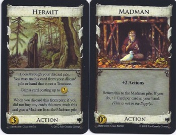 Hermit and Madman