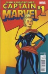 cover to Captain Marvel #1