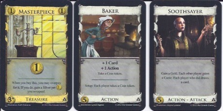 Dominion: Guilds Cards