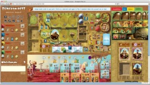 Dungeon Petz on a web browser